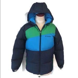 Columbia Puffer Down Hooded Jacket Waterproof